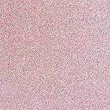 TRIXES Papel Tapiz Permanente Lámina de Vinilo Brillo Rosado – Reverso Autoadhesivo con Papel para Desprender -Adhesivo de 1350 mm x 440 mm - para Paredes Superficies de Muebles - Corta a Medida