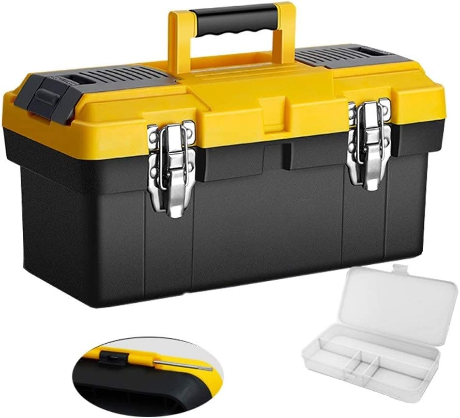 Portable Tool Box Manual Toolbox Steel Columbus Mall Lock Limited price sale a Stainless