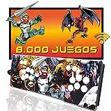 Pandora Box Wifi 8000 juegos, capacidad de instalar hasta 10000 juegos, Retro Consola Maquina recreativa Arcade, Joysticks arcade, Mame, FBA, Neogeo, SFC, NES, GBA, MD,Dreamcast, GB, PSone, PSP