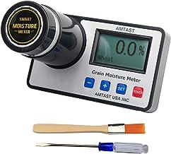 AMTAST Smart Grain Moisture Meter Grain Moisture Tester for 16 Grains Wheat Maize (Corn)..