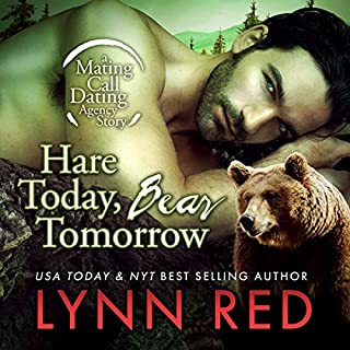 Hare Today Bear Tomorrow audiobook cover art