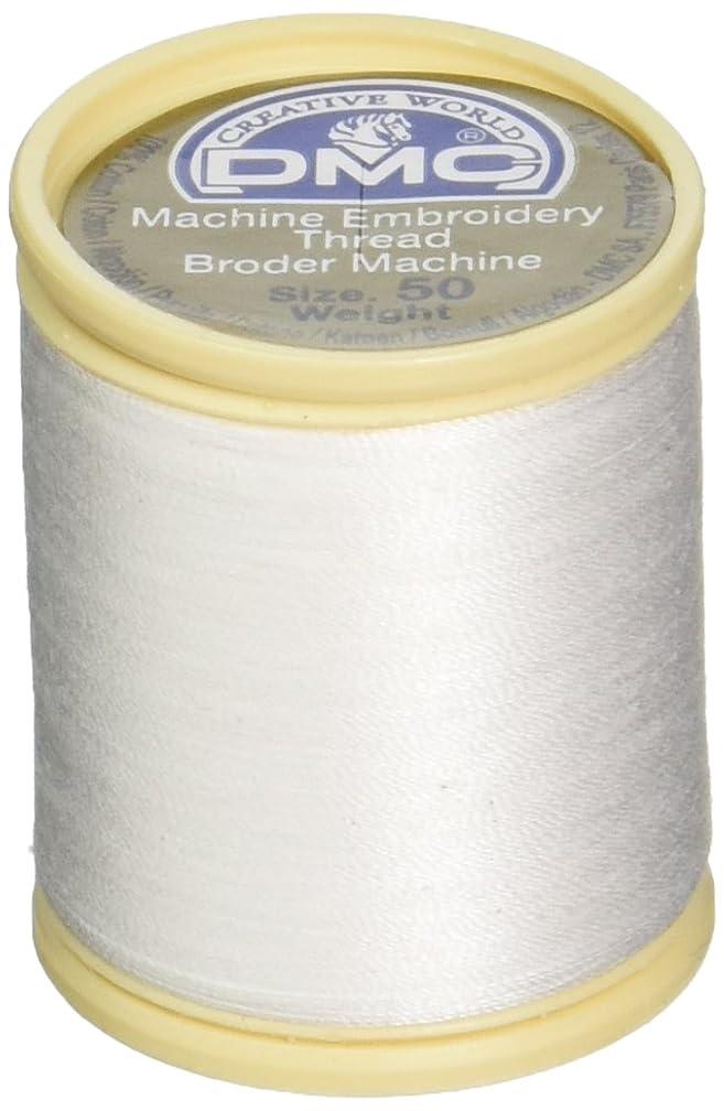 DMC 237A-50WHITE Cotton Embroidery Thread 50WT 547Yds White