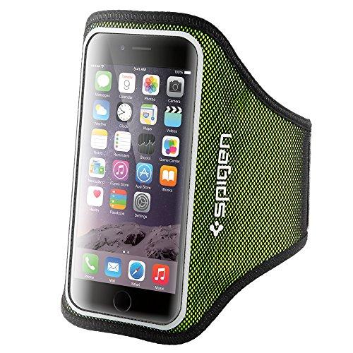 Fascia Braccio, Spigen Velo Braccio Sportiva Universale per Jogging Palestra Running con Cinturino Regolabile per iPhone 8/7/6S/6/SE/5S/5, Samsung Galaxy S8/...