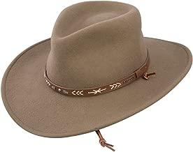 Stetson Men's Santa Fe Crushable Wool Felt Hat - Twstfe-8130Mu Mushroom