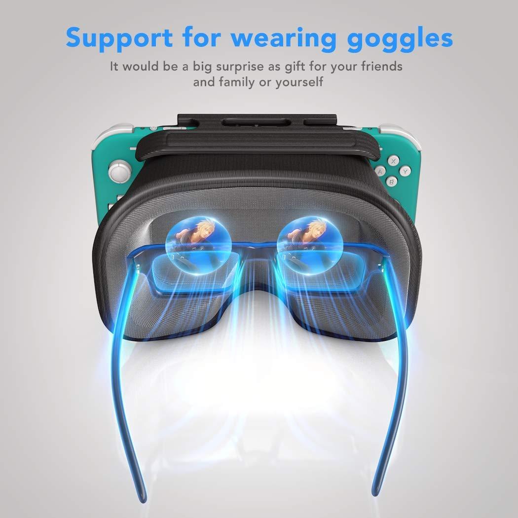 VR Labo para Nintendo Switch Lite, OIVO VR Headset 3D VR (realidad virtual) anteojos, gafas de labo con lente grande para Nintendo Switch Lite: Amazon.es: Videojuegos