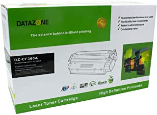 Datazone Black laser Toner Compatible for printers M553n/553X/553dn/ M552dn/ M577dn/M577f/M577z CF360A (508A)