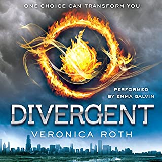 Divergent                   Written by:                                                                                                                                 Veronica Roth                               Narrated by:                                                                                                                                 Emma Galvin                      Length: 11 hrs and 11 mins     76 ratings     Overall 4.5