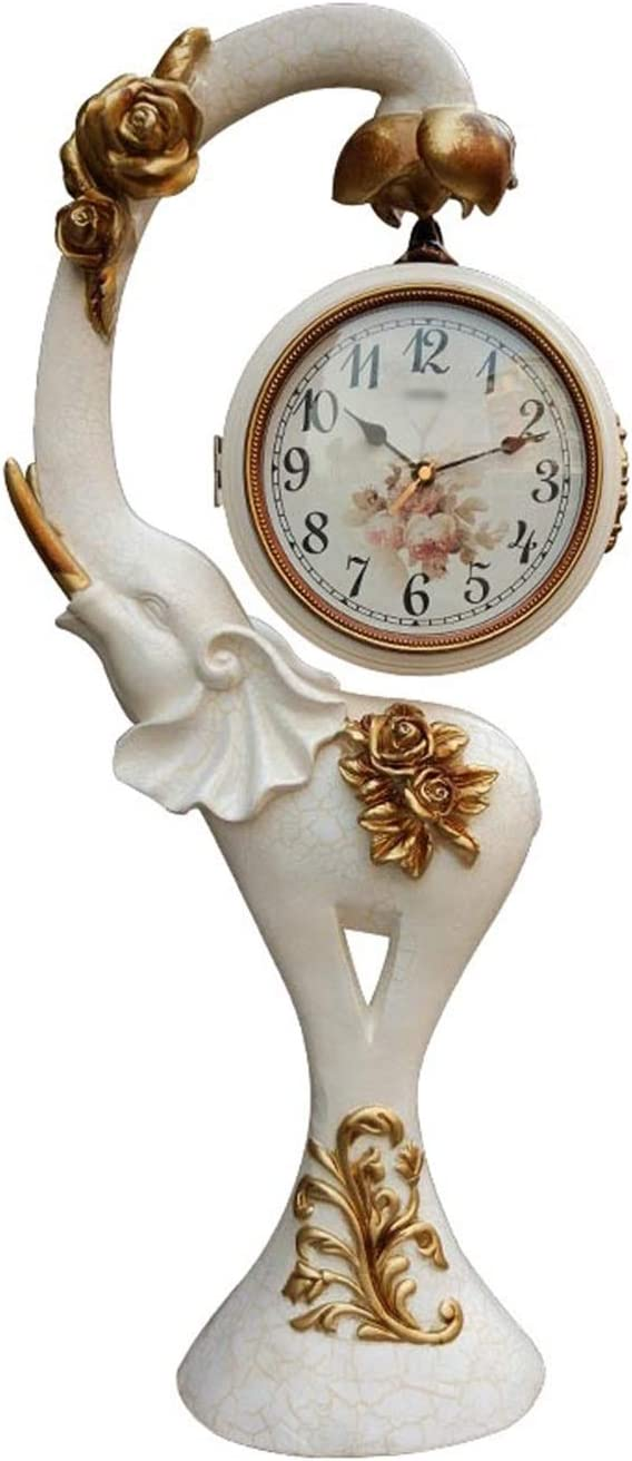 Industry No. 1 Liushop Desk Clock Resin Simple Ranking TOP3 Arab Tabletop Double-Sided