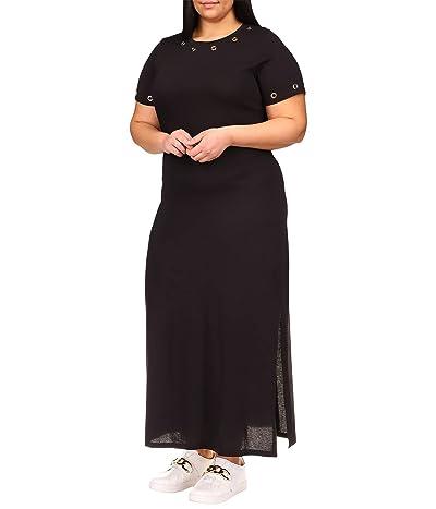 MICHAEL Michael Kors Plus Size Grommet Maxi Dress