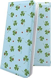 dynapocket T-01A / X02T マルチタイプ マルチ対応ケース ケース 手帳型 花柄 花 フラワー 三つ葉 ダイナポケット かわいい 可愛い kawaii lively t01a おしゃれ 11322-1001-10001067-t01a