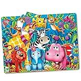 Learning Journey El Viaje de Aprendizaje 106501Selva Amigos mi Primer Gran Puzzle para Suelo