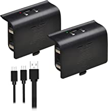 Batmax 2X Battery Packs Rechargeable Ni-MH for Xbox...