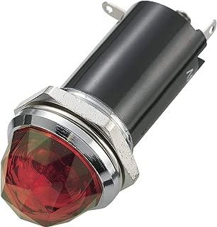 Voyant standard avec ampoule Sedeco BN-0755 RED 230 V rouge 1 pc s