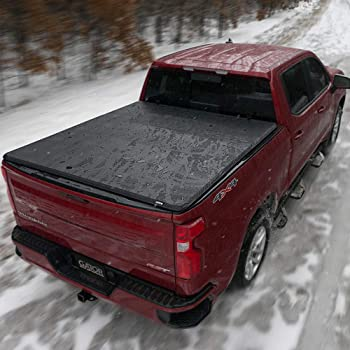 "Gator ETX Soft Tri-Fold Truck Bed Tonneau Cover | 59312 | Fits 2015 - 2020 Ford F-150 5' 5"" Bed 