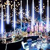 guirlande lumières Extérieur, 10tube 30cm 300LEDs IP65imperméable lumière...