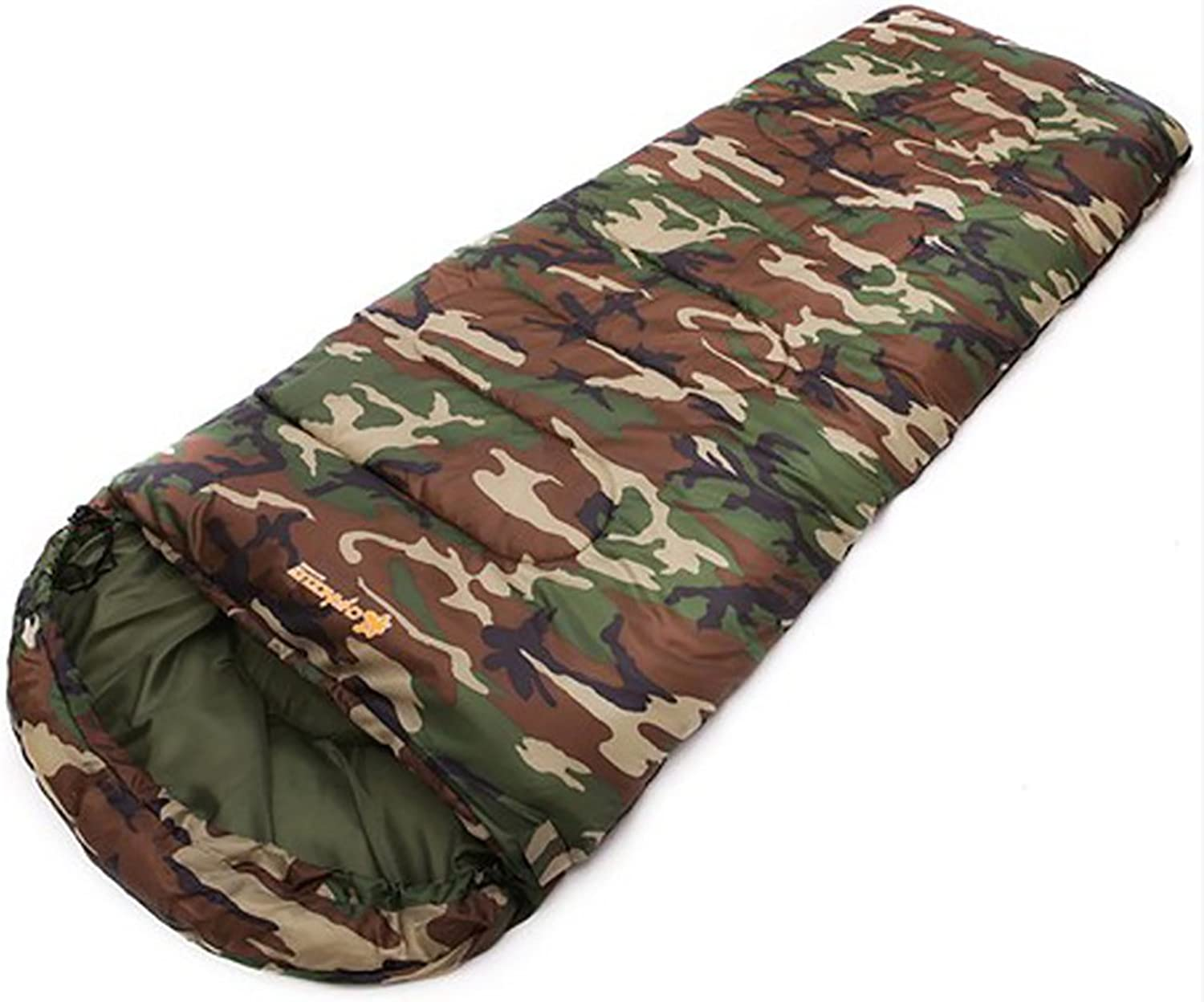ChezMax Outdoor Lightweight Portable Sleeping Bag Camping Sleeping Bag with Carrying Bag Envelope Sleeping Bag for Travel ,Hiking, Camping