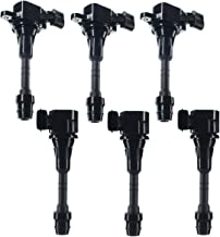 Set of 6 Ignition Coils Pack for Nissan Altima Frontier Maxima Murano Pathfinder Quest Xterra Infiniti I35 QX4 Suzuki Equator 3.5L 4.0L - coolthings.us