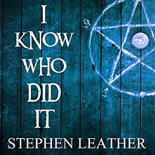 I Know Who Did It audiobook cover art
