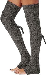 PASATO Women Girls Over The Knee Socks Thigh High Over the Knee Socks Leg Warmer Stockings Boot Thigh High Long Socks