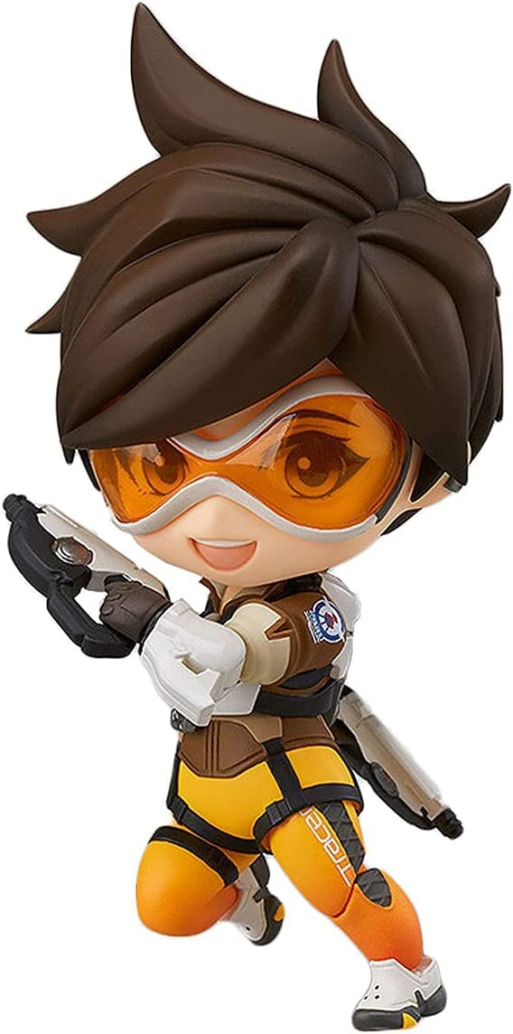 Nixi888 Overwatch Tracer Statue Q of Luxury goods The Max 52% OFF Version Nendoroi