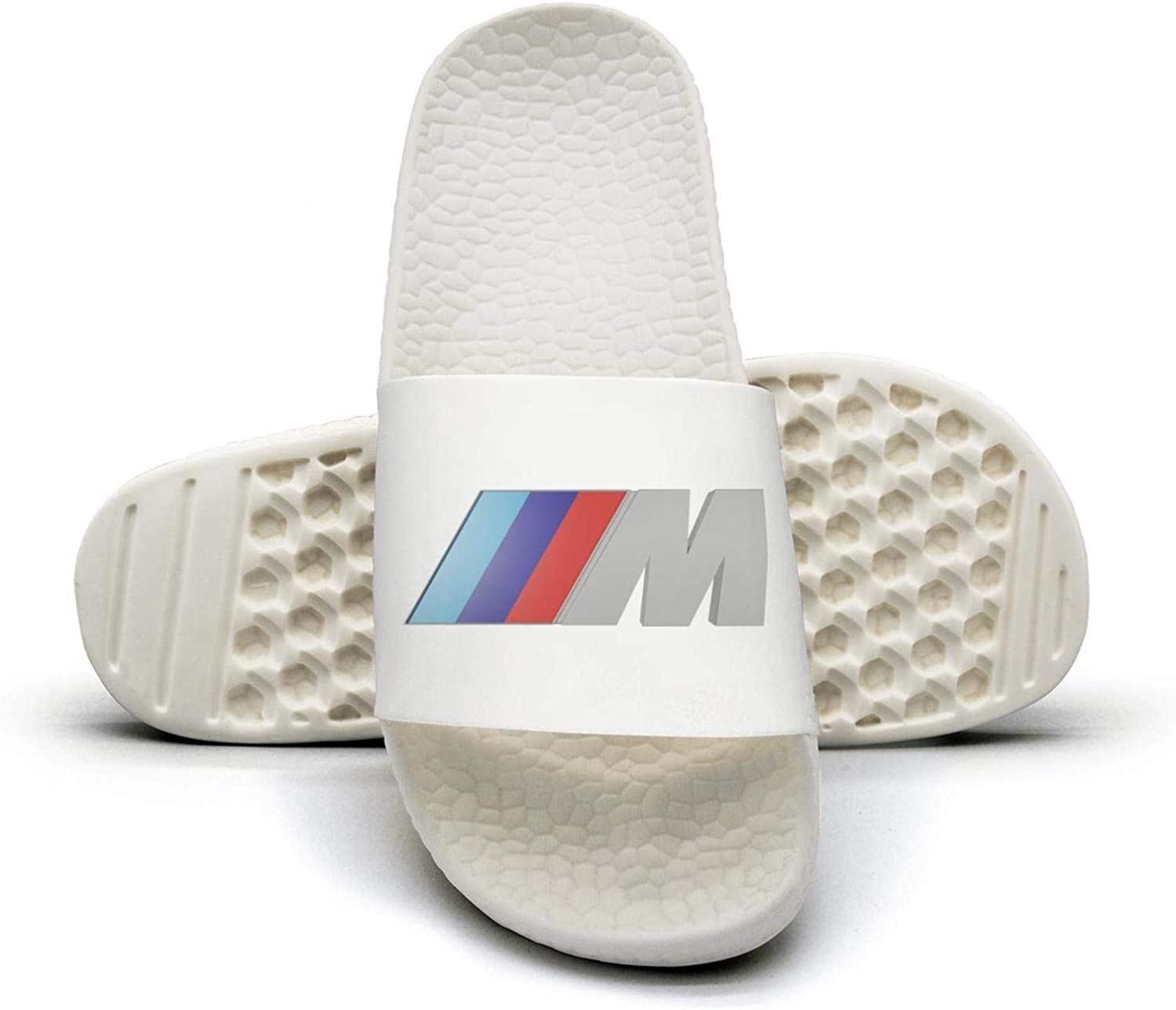 EIGKASL Printed Non-Slip Slippers Slides flip Flop Sandals BMW-Logo-m-Symbol-Summer Indoors for Womens