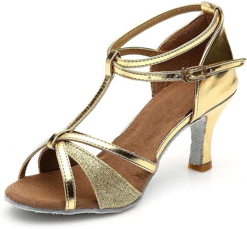 Jfkstore Women's Dance Shoes Latin Ballroom