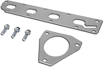 Aluminum Exhaust Manifold Header Gasket Set for 05-10 Chevy Cobalt/HHR 2.2L/2.4L I4 Non-Turbo