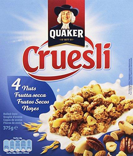 Quaker - Cruesli Nuts 375 g - [pack de 3]