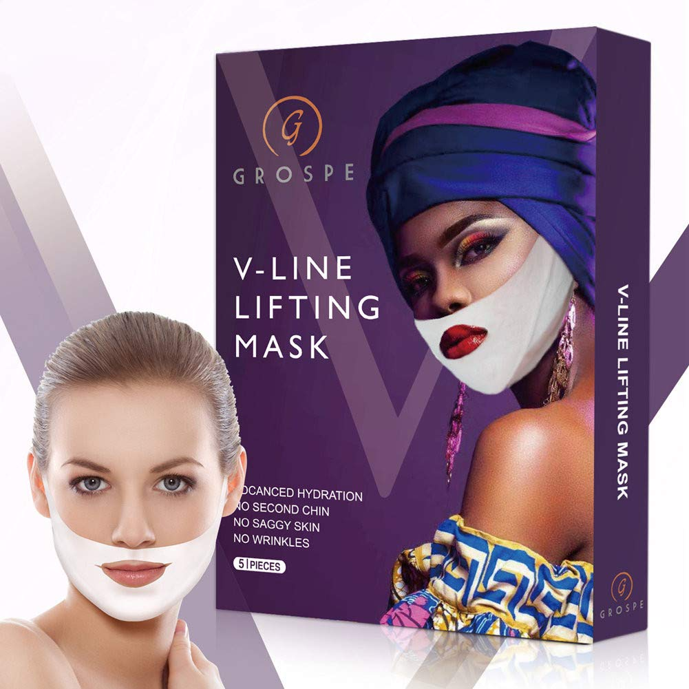 Miracle V-Shaped Slimming Mask 55% OFF V Lift Double Chin Face Latest item Line