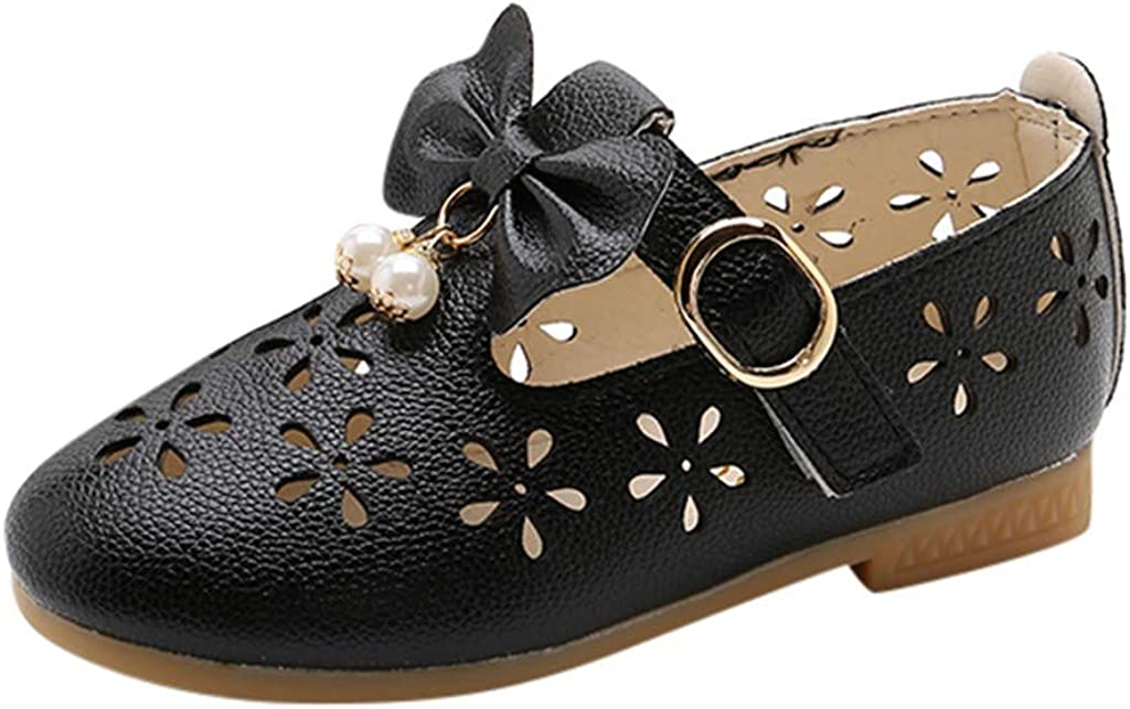 Max 54% Reservation OFF Rishine Toddler Shoes Children Kids Pearl Girls Baby Hol Bowknot