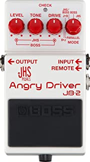 Boss JB-2 Angry Driver Overdrive Guitar Effects Pedal (Open Box)