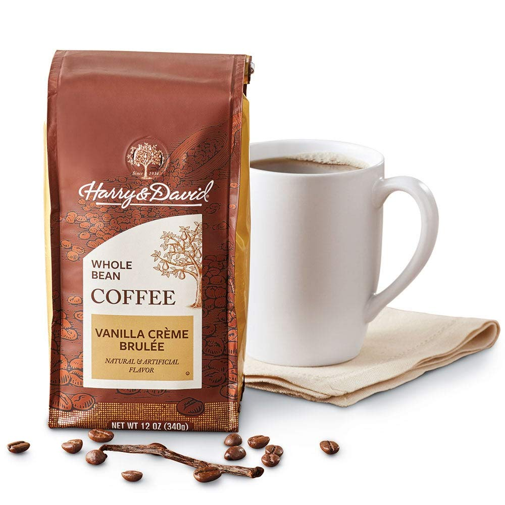 Excellence Limited time sale Harry David Vanilla Creme Brulee Ounces Coffee Bean Whole 12
