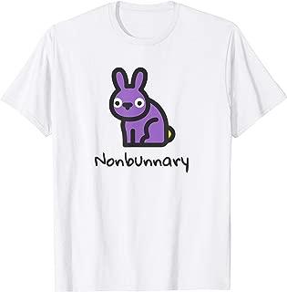 Nonbunnary LGBTQ Non-Binary Bunny Pride T-Shirt