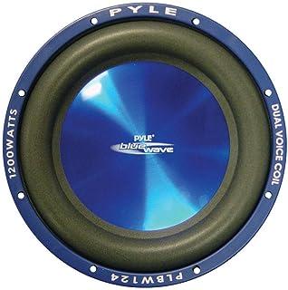4 Ohm Pyle PLPW6D Subwoofer 600 Watt max. hervorragend f/ür das Auto oder den heimischen Gebrauch 4 Durchmesser: 16,50 cm 6,5 Zoll DVC-Woofer mit Doppelschwingspule 300 Watt RMS