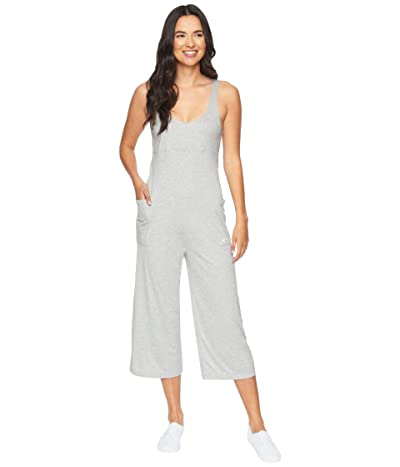 Hurley Sandy Rib Jumpsuit (Grey Heather) Women
