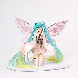 Classic Aesthetic HZXHDM Anime Good Smile Racing Kimono Hatsune Miku Tony Butterfly Beautiful Statue Figure Model Toys