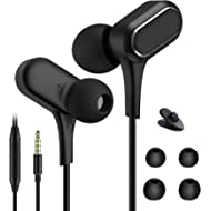 JJCALL Noise Isolation Earphones Heavy Bass in-Ear Earbuds Pure Sound and Powerful Bass...