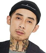 Clape Wool Docker Beanie Skull Cap Rolled Cuff Brimless Outfit Hat Hip-Hop Dancing Worker Sailorcap Unisex Watch Cap