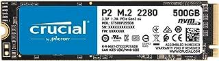Crucial P2 500GB 3D NAND NVMe PCIe M.2 SSD,CT500P2SSD8