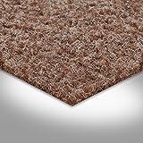 Kunstrasen Rasenteppich mit Noppen | Höhe ca. 7,5mm | 133, 200 und 400 cm Breite | beige hell-braun | Meterware, verschiedene Größen | Größe: 1 x 1,33 m - 3