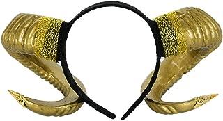 demon ram horns