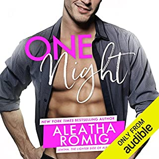 One Night audiobook cover art