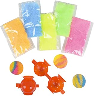 Kicko Make Your Own Ball Kit - DIY Ball Kit - Bouncy Planet Ball 12 Pack - Ball Frame Included - Fun Toy, Party Favor and Prize