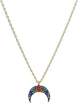 SHASHI Rainbow Tusk Necklace