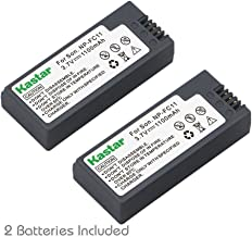 Kastar Battery (2-Pack) for Sony NP-FC11 NP-FC10 & Sony Cyber-Shot DSC-P12 DSC-P10 DSC-P8 DSC-V1 DSC-P7 DSC-P5 DSC-P9 DSC-P3 DSC-F77 DSC-P10S DSC-FX77 DSC-P2 DSC-P10L DSC-P8L DSC-F77A DSC-P8S DSC-P8R