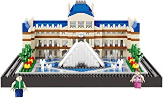 Arquitectura mundialmente Famosa París Louvre Modelo 3D Min