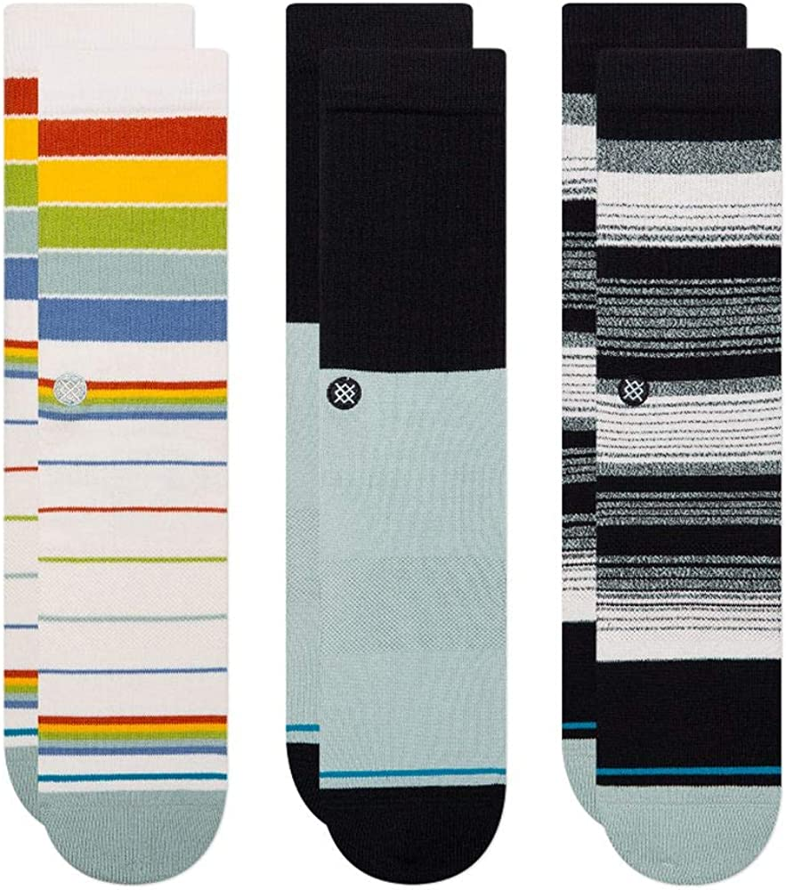Stance Badwater 3-Pack Crew Socks