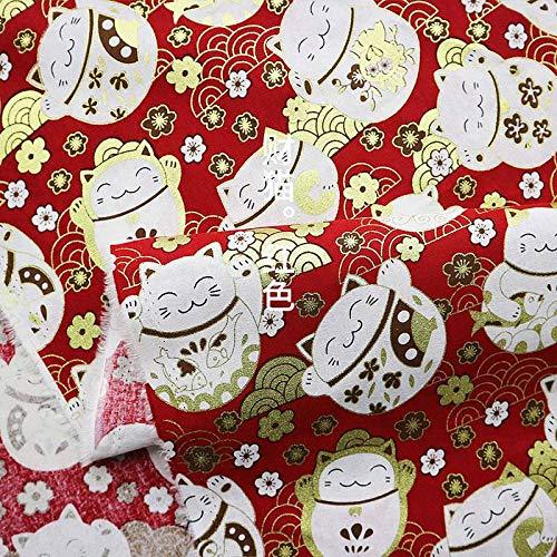 Sinkita stof mousselin natuur 100% stof van Japanse katoen handboek patchwork DIY stiksel