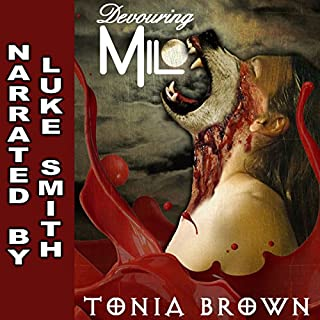 Devouring Milo audiobook cover art
