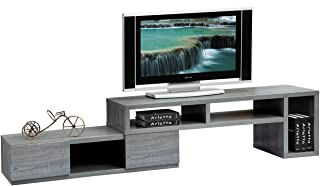 Techni Mobili Adjustable TV Stand Console for TV's up to 65